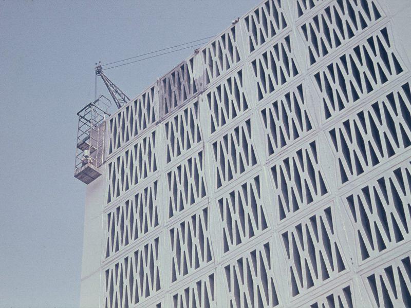 Außenwandgestaltung - 1967