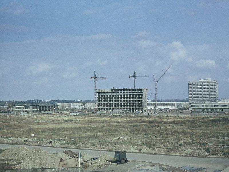 Scheibe D und Bau der weiteren Scheiben - 1971