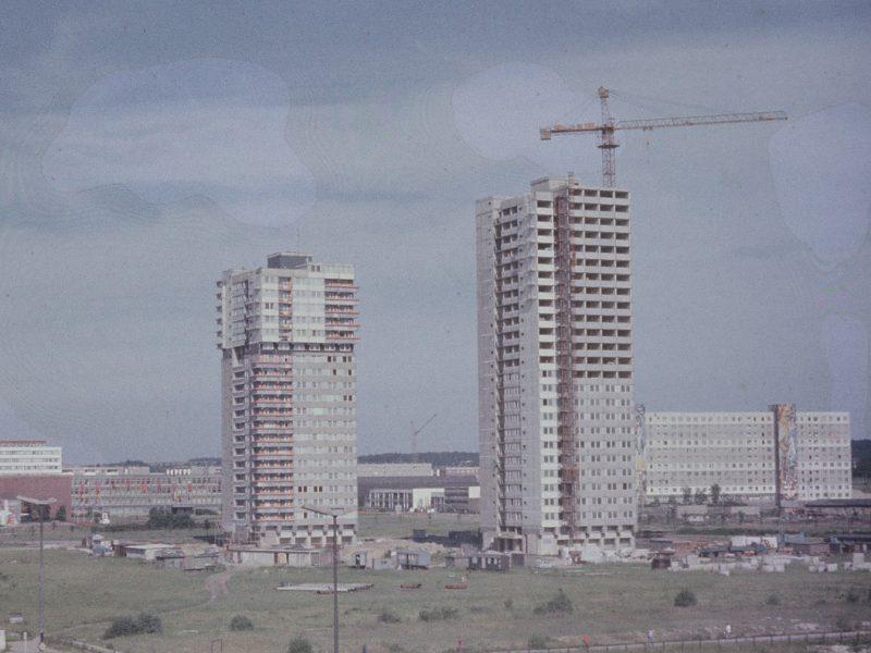 Bau Block 002 und 003 - 1979