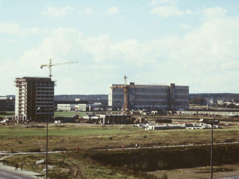 Bau Block 002 und 003 - September 1977