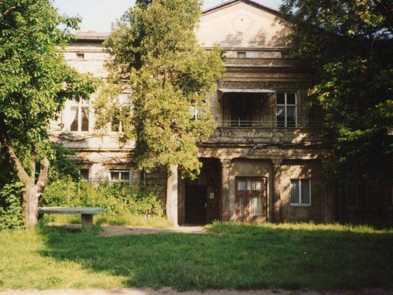 Mühlenvilla ca. 1996 - Clara Zetkin e. V.