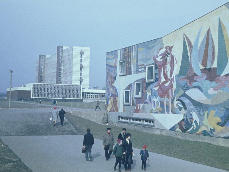 Schwimmhalle und Klubmensa 1972-73