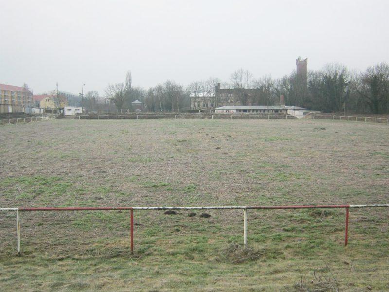 Der alte Fußballplatz heute