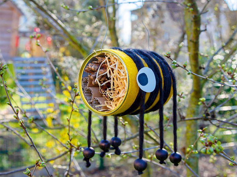 Insektenhotel-Dose