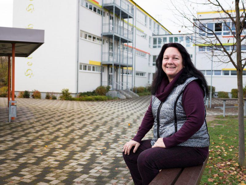 Mandy Rauchfuß - Direktorin GMS Heinrich Heine