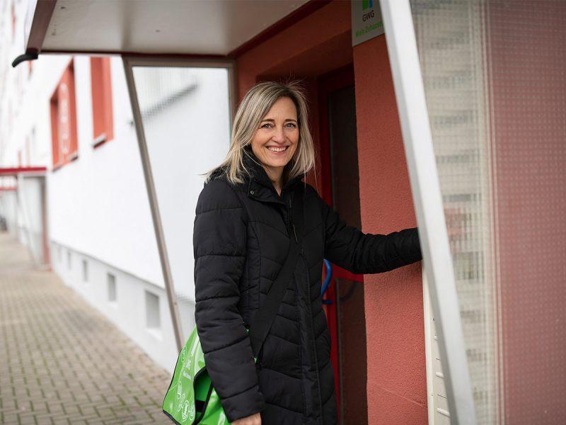 GWG-Kundenberaterin Simone Nasarek