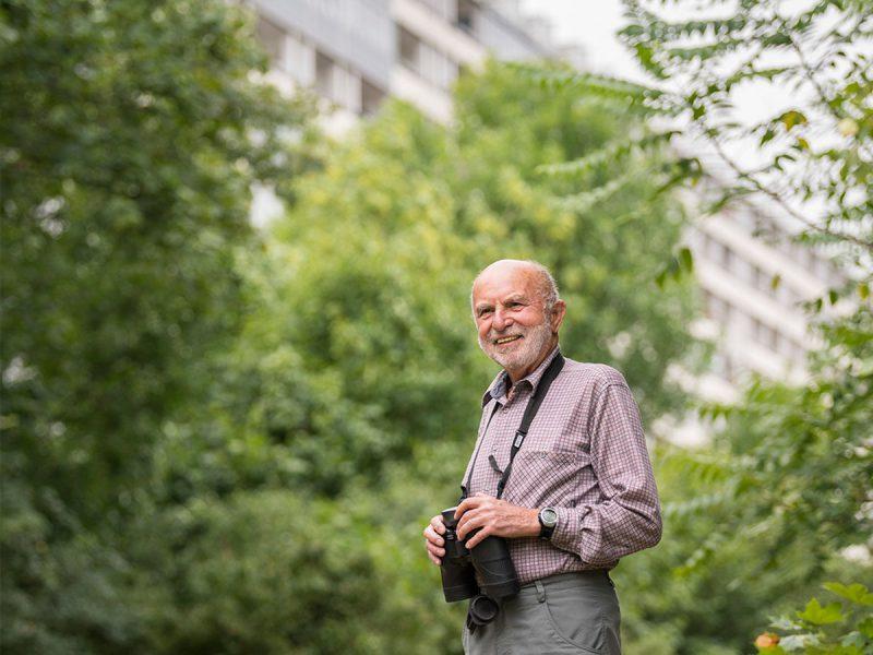 Egon Fuchs vom Ornithologischen Verein