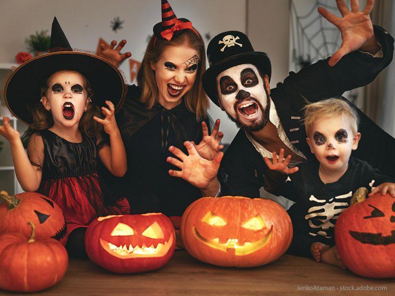 Schaurig-schönes Halloween mit der Familie