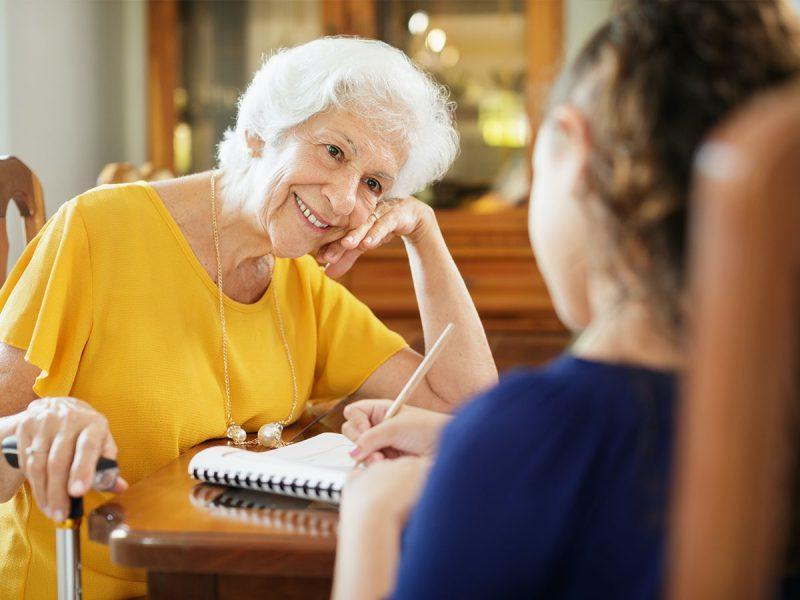 Hilfe für einsame Senioren