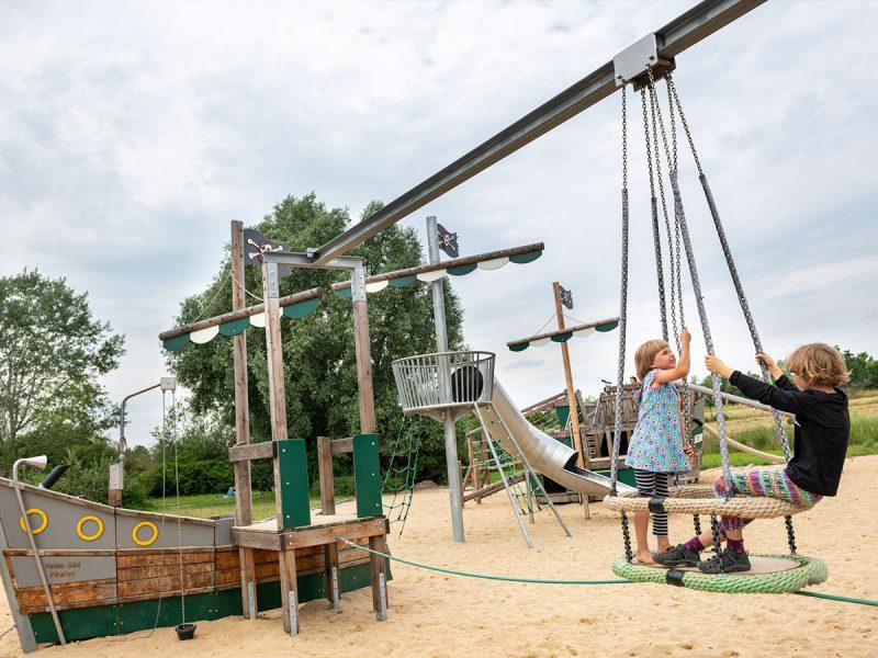 Spielplatz Heide-Süd Piraten